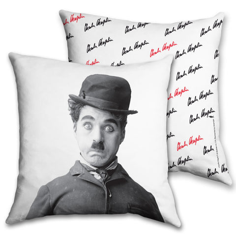 Charlie Chaplin Storyteller Cushion