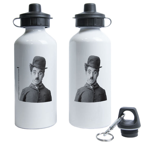 Charlie Chaplin Storyteller Water Bottle