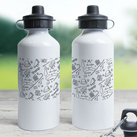 Charlie Chaplin Icons Water Bottle (Lifestyle)