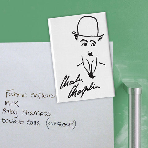 Charlie Chaplin Signature Magnet (Lifestyle)