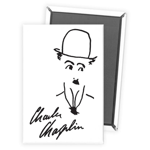 Charlie Chaplin Signature Magnet
