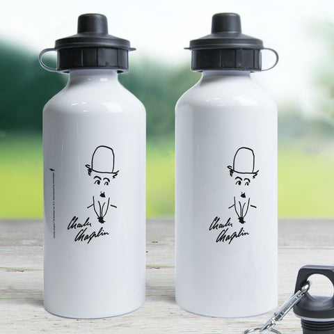 Charlie Chaplin Signature Water Bottle (Lifestyle)