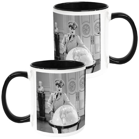 Charlie Chaplin The Great Dictator 2 Coloured Insert Mug