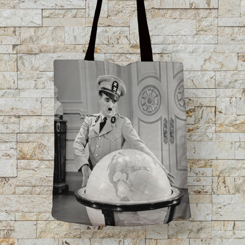 Charlie Chaplin The Great Dictator 2 Premium Tote (Lifestyle)