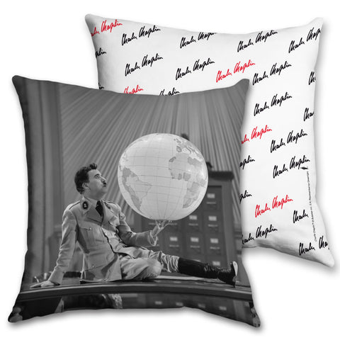 Charlie Chaplin The World Cushion