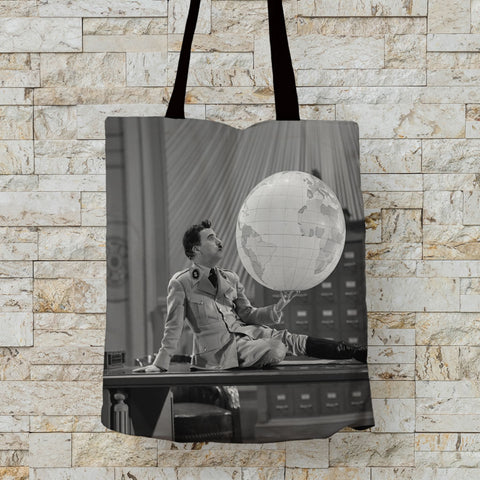 Charlie Chaplin The World Premium Tote (Lifestyle)