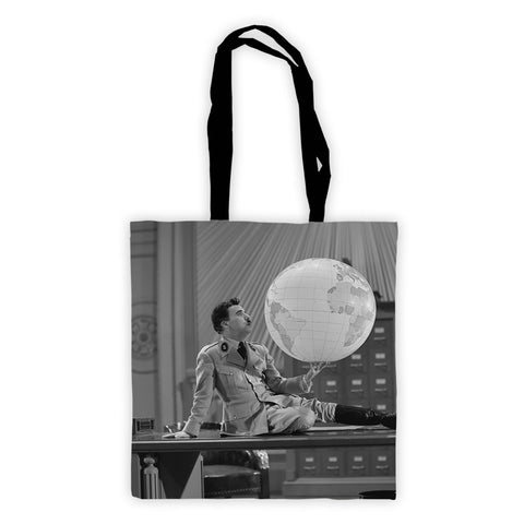 Charlie Chaplin The World Premium Tote