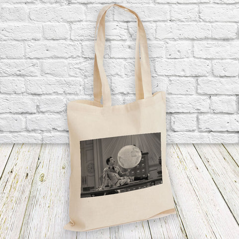 Charlie Chaplin The World Tote Bag (Lifestyle)