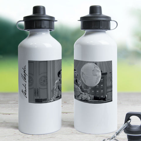 Charlie Chaplin The World Water Bottle (Lifestyle)