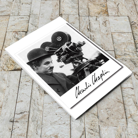 Charlie Chaplin Director Notepad (Lifestyle)