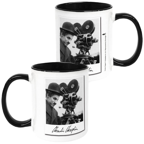 Charlie Chaplin Director Coloured Insert Mug