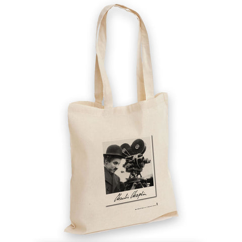 Charlie Chaplin Director Tote Bag
