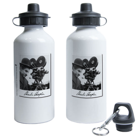 Charlie Chaplin Director Water Bottle