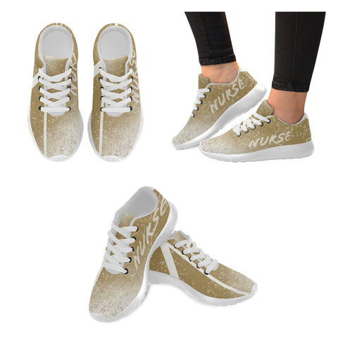 Gold Women's Sneakers