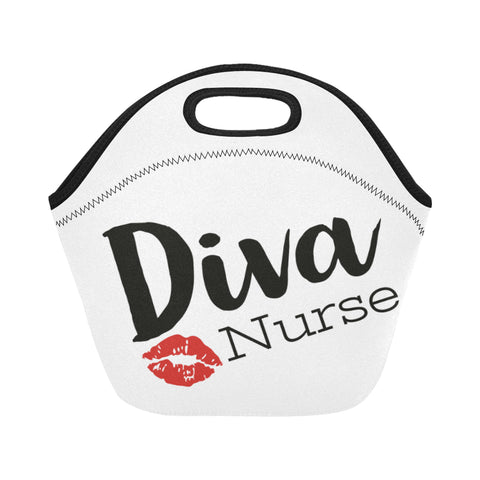 Diva Nurse Neoprene Lunch Bag