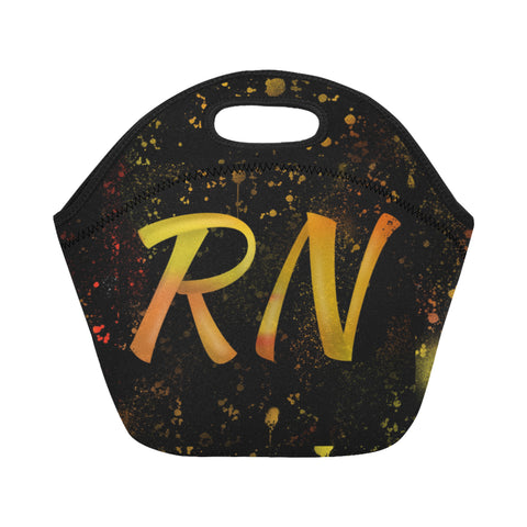 Amber Colored RN  Lunch Bag small