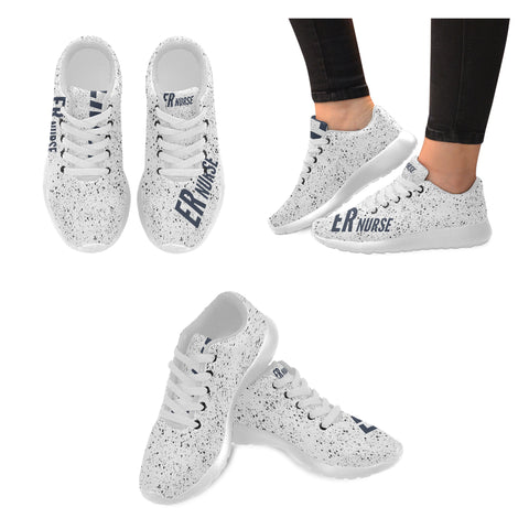 ER Nurse Splatter Women's Sneakers