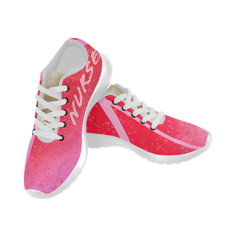 Pink Candy Nurse Women's Sneakers