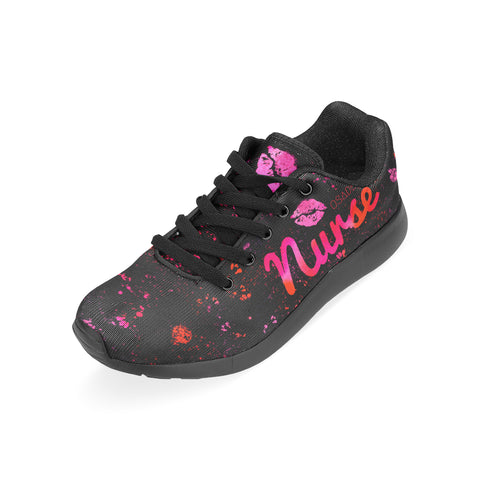 Pink Kiss Nurse Shoes