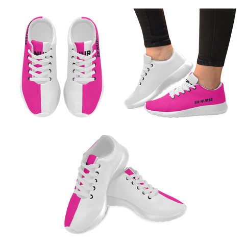 ER Nurse Pink Women's Sneakers