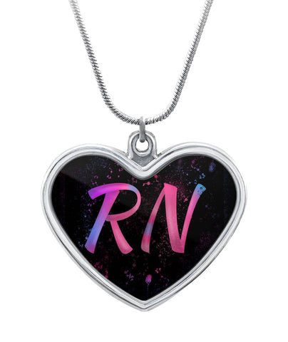 RN Heart Necklace