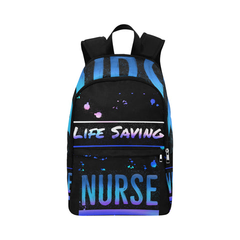 Blue Life Saving Nurse Backpack