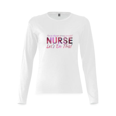 Strong Elegant Nurse T-shirt