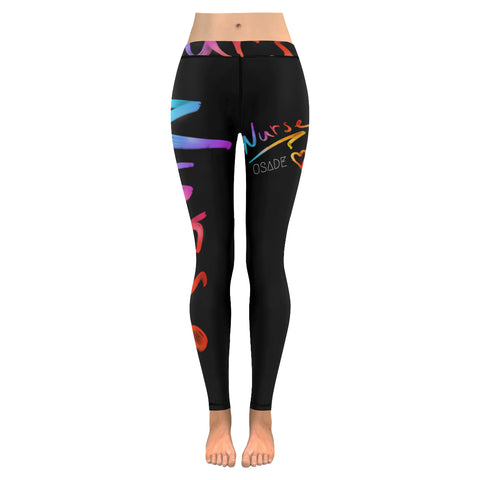 Vibrant Nurse Leggings