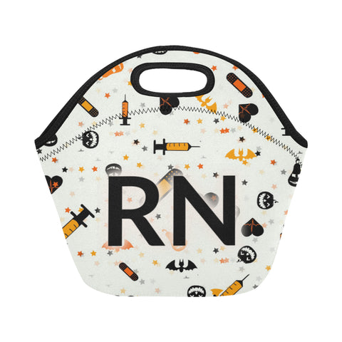 Halloween RN Neoprene Lunch Bag