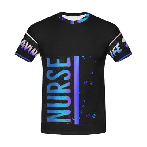 Blue Nurse Men's Shirt
