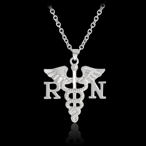 Registered Nurse Pendant Necklaces