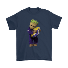 3D Groot I Love Baltimore Ravens NFL Football Shirts T-Shirt - Catsolo.com
