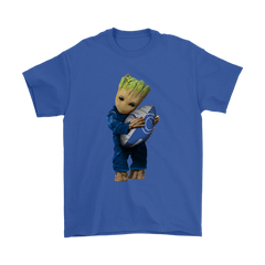 3D Groot I Love Indianapolis Colts NFL Football Shirts T-Shirt - Catsolo.com