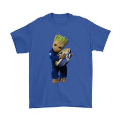 3D Groot I Love Los Angeles Rams NFL Football Shirts T-Shirt - Catsolo.com
