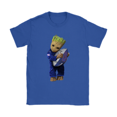 3D Groot I Love New York Giants NFL Football Shirts Women T-Shirt - Catsolo.com