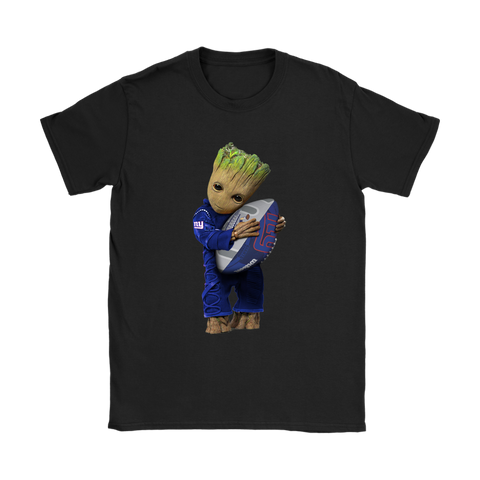 3D Groot I Love New York Giants NFL Football Shirts Women S / Black / Women T-Shirt - Catsolo.com
