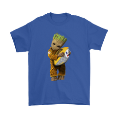 3D Groot I Love Pittsburgh Steelers NFL Football Shirts T-Shirt - Catsolo.com