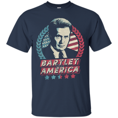 Bartlet For America T shirt T-Shirts T-Shirt - Catsolo.com