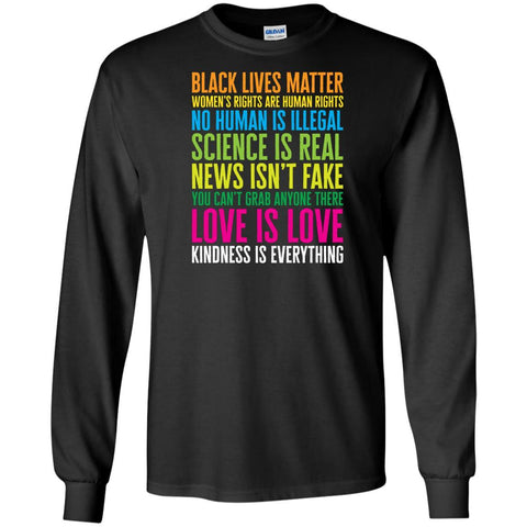 'Kindness Is Everything' Political Equality Shirt Long-Sleeve-240