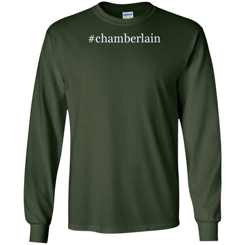 #chamberlain - A Nice Hashtag Men's Short Sleeve V-Neck T-Shirt Shirt Long-Sleeve-240