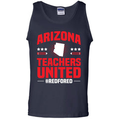 Arizona Teacher Protest Walkout 2018 G220 Gildan 100% Cotton Tank Top - Catsolo.com