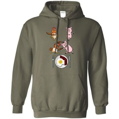 Bacon & Eggs  Chicken And Pig Fusion G185 Gildan Pullover Hoodie 8 oz. - Catsolo.com