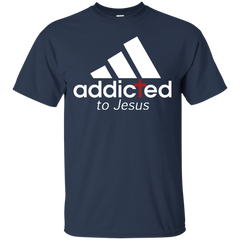 Adidas Addicted To Jesus T shirt T-Shirts T-Shirt - Catsolo.com