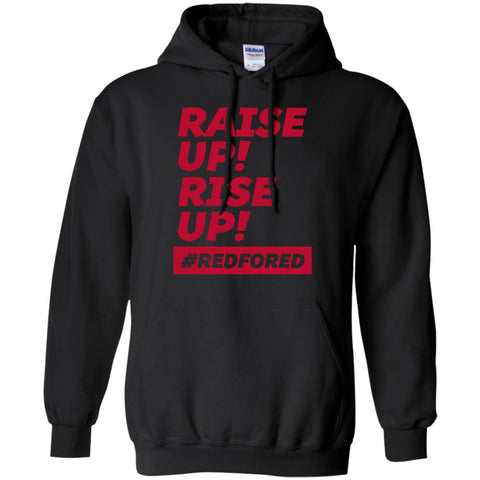 Arizona Teacher Strike Raise Up Black / S G185 Gildan Pullover Hoodie 8 oz. - Catsolo.com