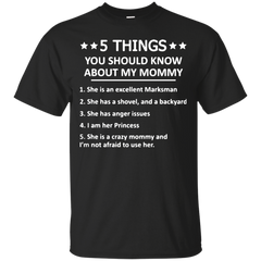 5 Things You Should Know About My Daddy T shirt T-Shirts T-Shirt - Catsolo.com