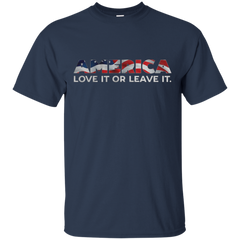 America Love It Or Leave It T shirt T-Shirts T-Shirt - Catsolo.com