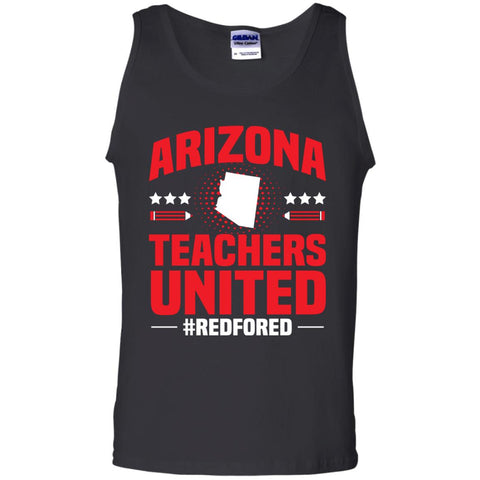 Arizona Teacher Protest Walkout 2018 Black / S G220 Gildan 100% Cotton Tank Top - Catsolo.com