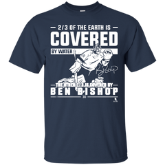 Ben Bishop Of The Earth Is Covered By Water T shirt T-Shirts T-Shirt - Catsolo.com
