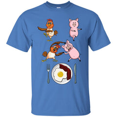 Bacon & Eggs  Chicken And Pig Fusion G200 Gildan Ultra Cotton T-Shirt - Catsolo.com
