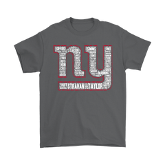 American Football NFL All Players Logo Team New York Giant Shirts T-Shirt - Catsolo.com